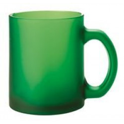 Кружка Foggy матовая, зеленая