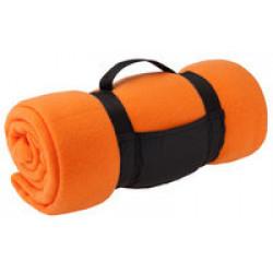 Дорожный плед Soft, светло-оранжевый