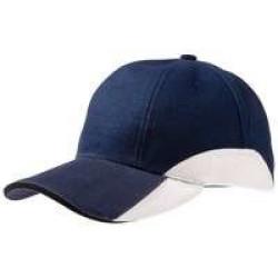 Бейсболка Unit Discovery, синяя с белым