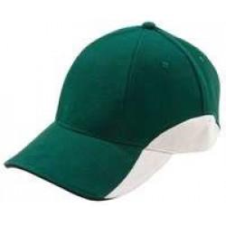 Бейсболка Unit Discovery, зеленая с белым