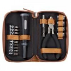 Набор инструментов в чехле Compact, серый