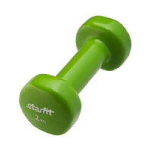 Гантель Heracles 2 кг, зеленая