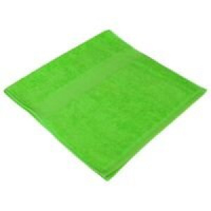 Полотенце махровое Soft Me Small, зеленое яблоко