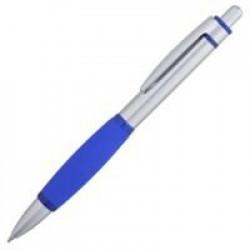 Ручка шариковая Boomer, с синими элементами