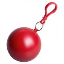 Дождевик в круглом футляре NIMBUS, красный