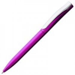 Ручка шариковая Pin Silver, розовый металлик