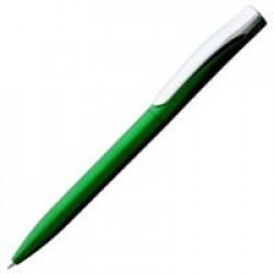 Ручка шариковая Pin Silver, зеленый металлик