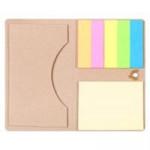 Футляр для визитки Eco Holder со стикерами, крафт