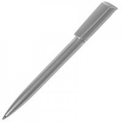 Ручка шариковая Flip Silver, серебристая
