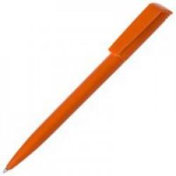 Ручка шариковая Flip, оранжевая