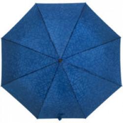 Складной зонт Magic с проявляющимся рисунком, синий