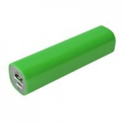 Внешний аккумулятор Easy Shape 2000 мАч, ярко-зеленый