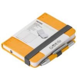 Блокнот Lilipad с ручкой Liliput, желтый