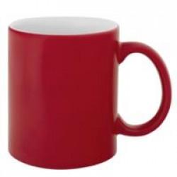 Кружка «Хамелеон», матовая, красная