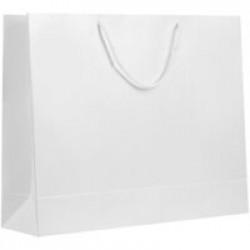Пакет бумажный «Блеск», большой, белый
