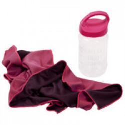 Охлаждающее полотенце Weddell, розовое