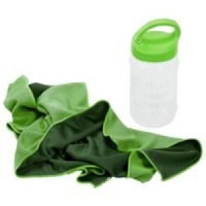 Охлаждающее полотенце Weddell, зеленое