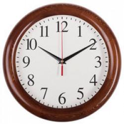 Часы настенные Treecky, дуб