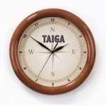 Часы настенные с деревянным ободом Treecky, дуб