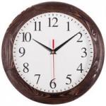 Часы настенные Treecky, мореный дуб