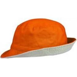 Панама Unit Summer двусторонняя, оранжевая с серым