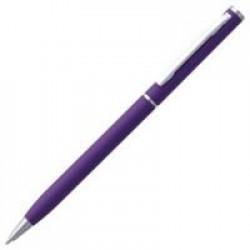 Ручка шариковая Hotel Chrome, ver.2, матовая фиолетовая