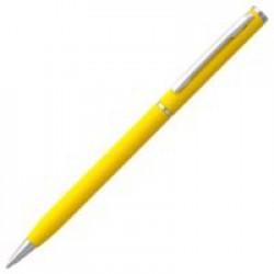 Ручка шариковая Hotel Chrome, ver.2, матовая желтая
