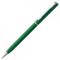Ручка шариковая Hotel Chrome, ver.2, матовая зеленая