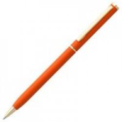 Ручка шариковая Hotel Gold, ver.2, матовая оранжевая