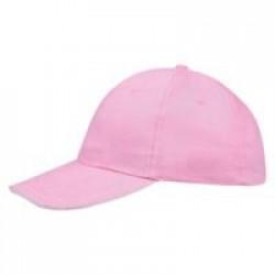 Бейсболка BUFFALO, розовая с белым