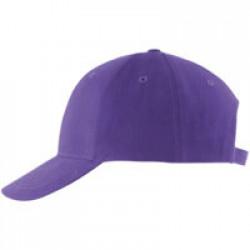 Бейсболка BUFFALO, темно-фиолетовая