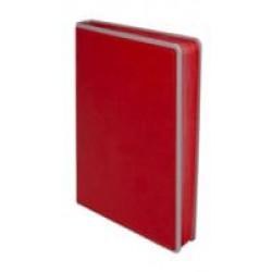 Ежедневник Freenote, недатированный, красный