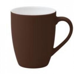 Кружка Good Morning c покрытием софт-тач, коричневая
