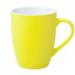 Кружка Good Morning c покрытием софт-тач, желтая
