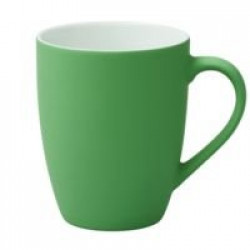 Кружка Good Morning c покрытием софт-тач, зеленая