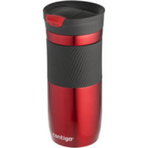 Термостакан Byron, вакуумный, герметичный, красный