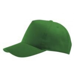 Бейсболка Buzz, ярко-зеленая