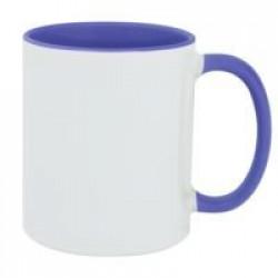 Кружка Promo Plus для сублимационной печати, голубая
