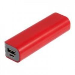 Внешний аккумулятор Shape 2600 мАч, красный