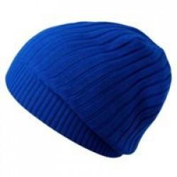 Шапка Stripes, ярко-синяя