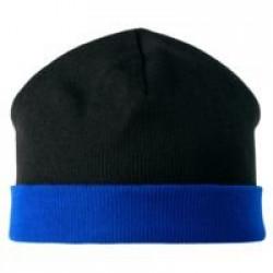 Шапка двусторонняя Multi, черно-синяя