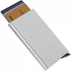 Футляр для кредитных карт Motion, ver.2, серебристый