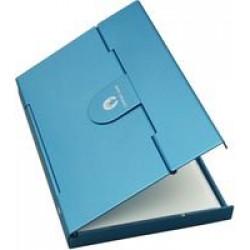 Футляр для визитных и кредитных карточек Stand, голубой