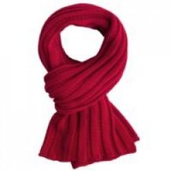 Шарф Chain, красный