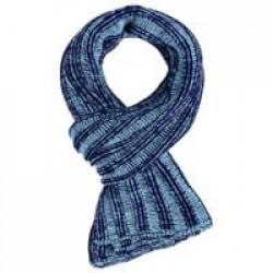 Шарф Chain Multi, сине-голубой