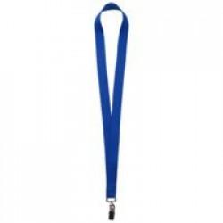 Лента для бейджа Neckband, синяя