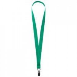 Лента для бейджа Neckband, зеленая