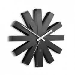 Часы настенные Ribbon, черныe