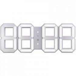 Часы настенные White & White Clock, белые