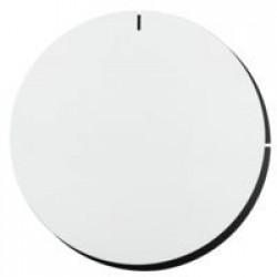 Часы настенные Melancholia Clock, белые